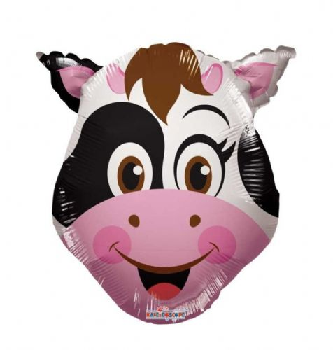 "14"" Cow Balloon - Uninflated - Requires Heat Seal"
